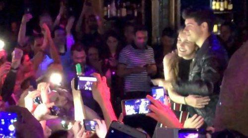 El emocionante recibimiento de los fans a Amaia y Alfred en la Welcome ESPreParty 2018