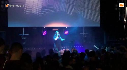 """Davinia Cuevas ('OT 3') canta """"Mi obsesión"""" en la Welcome ESPreParty 2018"""