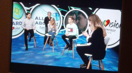 Así se hace 'OTVisión', el programa digital de RTVE sobre Eurovisión