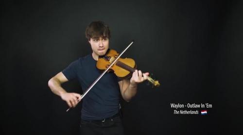 Eurovisión 2018: Alexander Rybak versiona con violín varias de las canciones del Festival