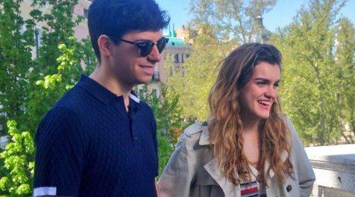 Rueda de prensa de despedida de Amaia y Alfred antes de viajar a Lisboa para Eurovisión 2018