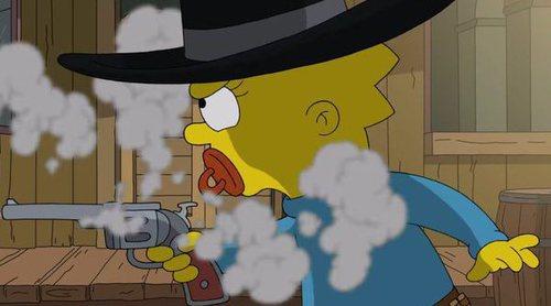 'Los Simpson' homenajea a 'Gunsmoke' al arrebatarle el récord de la serie más longeva de televisión