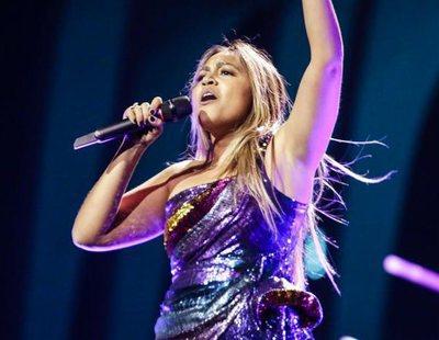 """Eurovisión 2018: Primer ensayo de Jessica Mauboy (Australia) cantando """"We Got Love"""""""