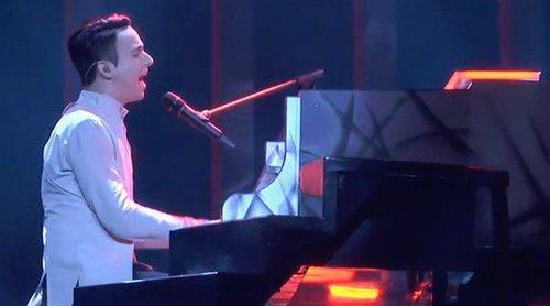 """Eurovisión 2018: Primer ensayo de Melovin (Ucrania) cantando """"Under The Ladder"""""""