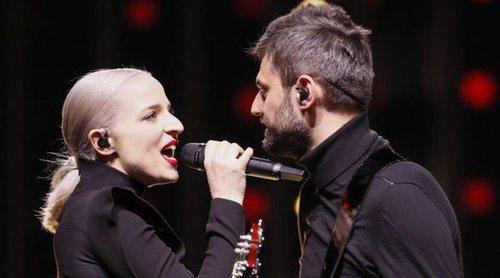 """Eurovisión 2018: Primer ensayo de Madame Monsieur (Francia) cantando """"Mercy"""""""