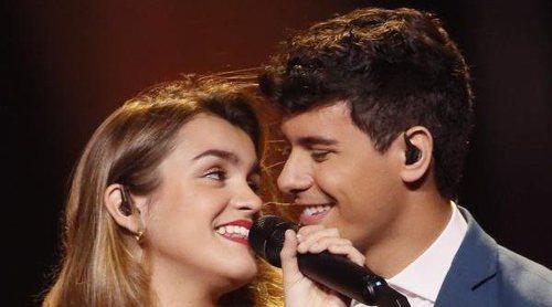 Eurovisión 2018: Segundo ensayo de Amaia y Alfred (España) en Lisboa