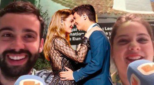 Eurovisión 2018: Reacciones al segundo ensayo de Amaia y Alfred y el resto de países del Big Five y Portugal