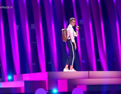"""Eurovisión 2018: Mikolas Josef canta """"Lie To Me"""" (República Checa) en el primer ensayo general"""