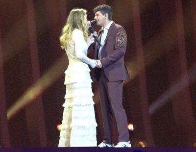"""Eurovisión 2018: Amaia y Alfred cantan """"Tu Canción"""" en el primer ensayo general"""
