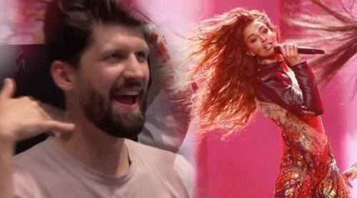Eurovisión 2018: La eufórica reacción de la prensa con la actuación de Eleni Foureira (Chipre) en la Semifinal