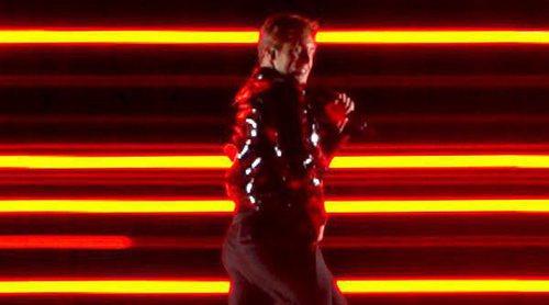 """Eurovisión 2018: Benjamin Ingrosso canta """"Dance You Off"""" (Suecia) en el ensayo general de la Segunda Semifinal"""