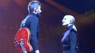 """Eurovisión 2018: Madame Monsieur cantando """"Mercy"""" (Francia) en el ensayo general de la Semifinal 2"""