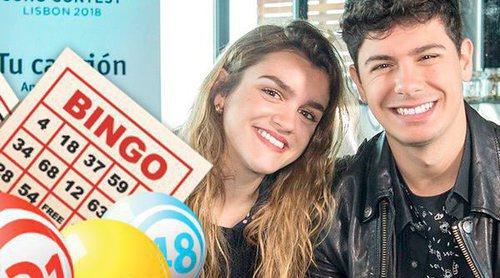 """Jugamos al bingo con Amaia y Alfred: """"Nos hubiese gustado saber que 'OT' era la preselección de Eurovisión"""""""