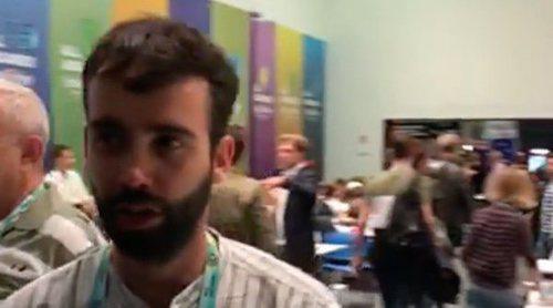 Eurovisión 2018: El ambiente en la zona de prensa antes de la Semifinal 2
