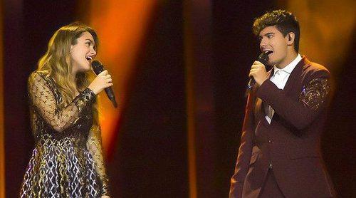 Eurovisión 2018: Reacciones al último ensayo de Amaia y Alfred (España) antes de la final