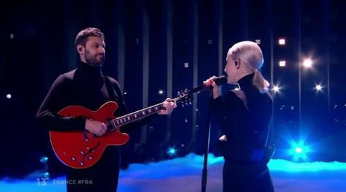 """Eurovisión 2018: Madame Monsieur (Francia) cantan """"Mercy"""" en la Gran Final del Festival"""