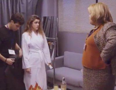 Paquita Salas, representante de Amaia y Alfred en Eurovisión 2018 en la nueva promo de Netflix
