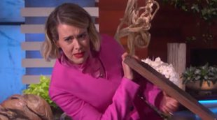 Sarah Paulson vuelve a ser víctima de los sustos de Ellen DeGeneres en su programa