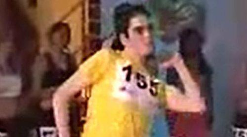 Casting de Marcos Díaz, concursante de la primera edición de 'Fama, ¡a bailar!'