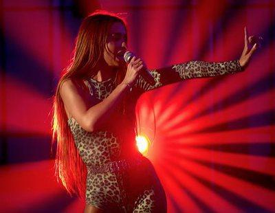 """'Fama a bailar': Eleni Foureira (Eurovisión 2018) canta """"Fuego"""" con los concursantes"""