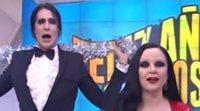 Alaska y Mario Vaquerizo presentan las Campanadas en 'Feliz Año Neox' en 2013