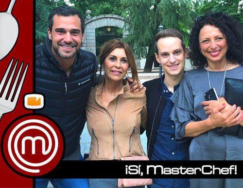 Fabio, Marina, Jorge y Oxana desvelan a quiénes se imaginan en el duelo final de 'MasterChef'