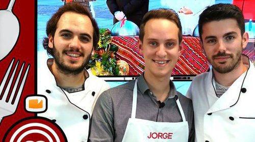 """Jorge, en ¡Sí, MasterChef!: """"No tenía ninguna pretensión de entrar, me tomé el casting como una vivencia"""""""