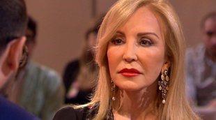 """Carmen Lomana, en 'Chester': """"Mi papá me colocó en el Santander pero no entré por enchufe"""""""
