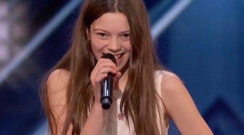 Courtney Hadwin, una niña de 13 años, revoluciona 'America's Got Talent' con un tema de Janis Joplin