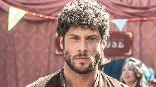 """José Lamuño: """"Tendré una trama amorosa en 'El Continental' pero no será con el personaje de Michelle Jenner"""""""