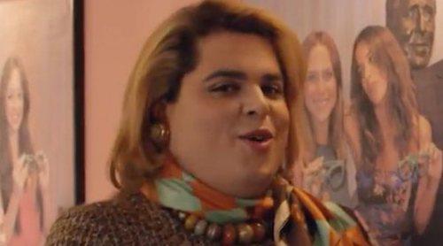 'Paquita Salas': Miguel Ángel Muñoz, Elena Rivera y Pepe Viyuela, protagonistas de una escena eliminada