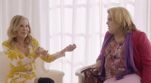 'Paquita Salas' explica cómo le propuso a Ana Obregón romper su TP de Oro, en una escena inédita de la T2