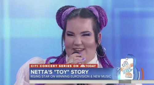 """Netta, ganadora de Eurovisión 2018, canta """"Toy"""" en su primera aparición en EEUU"""