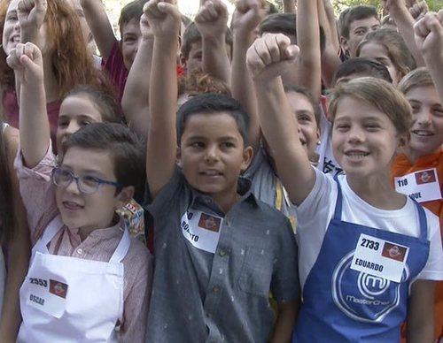 Así vivieron los futuros aspirantes a 'MasterChef Junior 6' el casting de Madrid