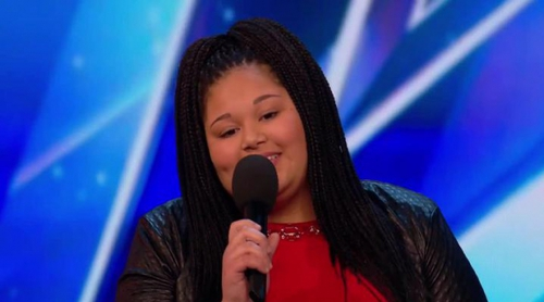 Destiny Chukunyere, ganadora de Eurovisión Junior 2015, versiona a Aretha Franklin en 'Britain's Got Talent'