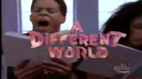 Cabecera de 'A Different World' (1989) con la voz de Aretha Franklin