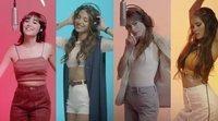 """Teaser del remix de """"Lo malo"""", con Tini Stoessel ('Violetta') y Greeicy Rendón ('Chica vampiro')"""