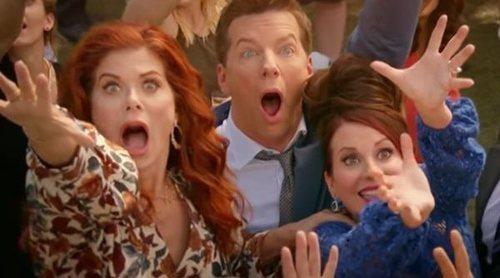 El primer tráiler de la décima temporada de 'Will & Grace' muestra a su protagonistas en una inesperada boda