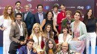 Rueda de prensa de 'MasterChef Celebrity 3' con todos los concursantes y el jurado