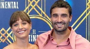 """Álex García y Michelle Jenner: """"'El Continental' tiene muchísimos referentes pero no nos parecemos a ninguno"""""""
