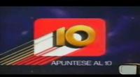 Anuncio de Canal 10, la primera televisión privada de España