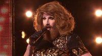 Así es Gingzilla, la Conchita Wurst australiana que dejó sorprendido al jurado de 'Factor X'