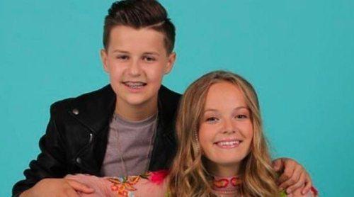 """Eurovisión Junior 2018: Anne Buhre y Max Albertazzi representan a Países Bajos con """"Samen"""""""