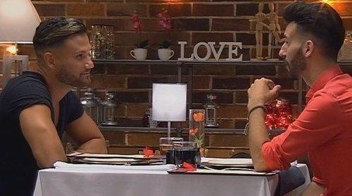 Llega a 'First Dates' el cuadrado amoroso gay más cómico de la historia del programa