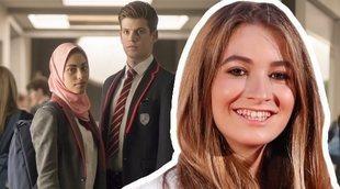 'Élite': Carlota Boza, Angy, Xuso Jones y Elena Rivera hacen este peculiar casting para la segunda temporada
