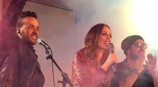 'La Voz': Antonio Orozco y Luis Fonsi dan un concierto sorpresa en Madrid