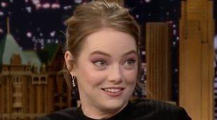 Emma Stone le confiesa a Jimmy Fallon que se cambió el nombre por las Spice Girls