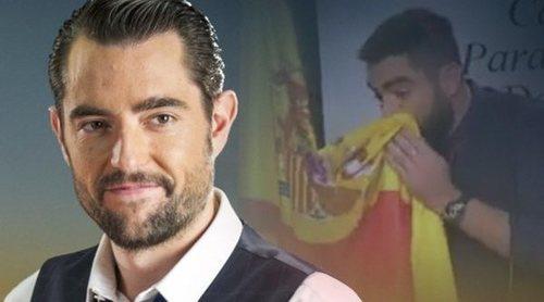 Los rostros televisivos opinan sobre la polémica de Dani Mateo y la bandera de España