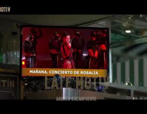 'Late Motiv' y su divertida versión del anuncio de la Lotería de Navidad con Rosalía