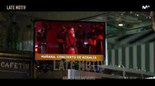 'Late Motiv' versiona con Rosalía el anuncio de la Lotería de Navidad
